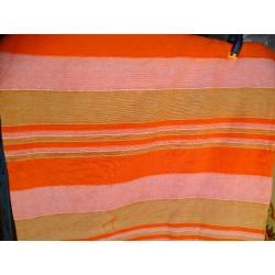 Relieve pintado pantalla (rojo - flor)