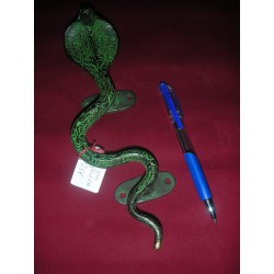 bronce cobra manejar 23 cm