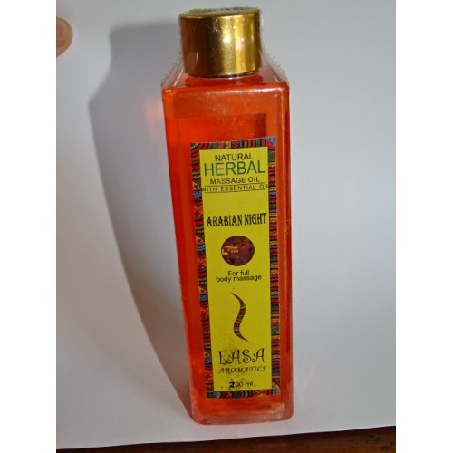 Aceite de masaje perfume ARABIAN NIGHT (200 ml)
