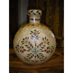 Jar Agua peinte mano crudo (MM)