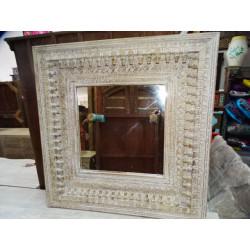 Jar Agua peinte mano turquoise (GM)