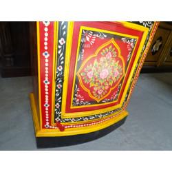 China botones de línea blanca / bermellón