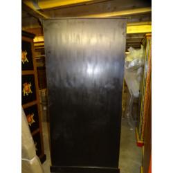 Manija de bronce de animales Musico verde del tambor