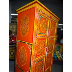 Manija de bronce de animales Musico tamtam verde