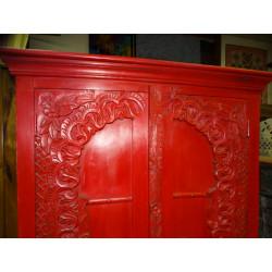 Manija de la rana verde bronce