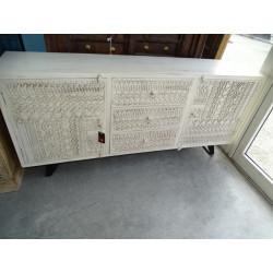 Puertas dobles de hueso armario de 2 puertas