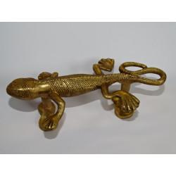 Perillas los cajones de porcelana verde y amarillo