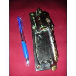 Candado de bronce del pájaro de oro del demonio