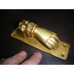 Bronce candado Fish Verde
