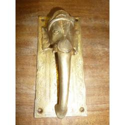 10x10cm gancho de cerámica Yellow Bird