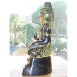 8x8 cm flores de color turquesa