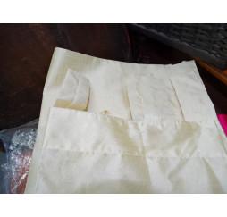 Cabeza de Buda tallada panel de 2 tonos