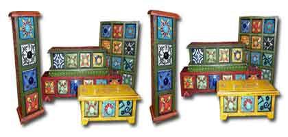Caja de té - piezas