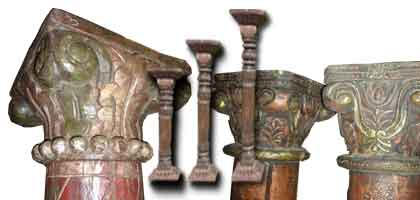 pilares de la India