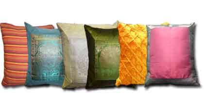 Cubre cojines y almohadas