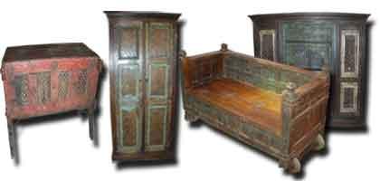Muebles de la India antigua