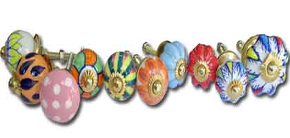 Mini botones de porcelana