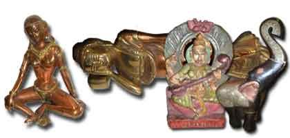 Estatuillas, objetos de adorno