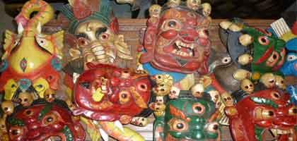 máscaras de Nepal