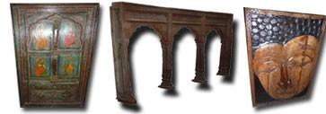 Arcos, puertas, pilares ...