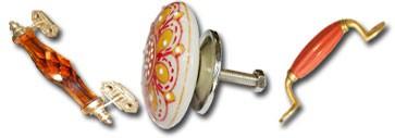 Manijas de porcelana